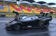LAMBORGHINI-SUPERCHARGED-V8-DRAG-CAR-LICENCE-TESTING-AT-SYDNEY-DRAGWAY-19.12.2014