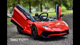 Kids-ride-on-battery-powered-Lamborghini-12v