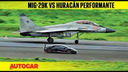 DRAG-RACE-Lamborghini-Huracn-Performante-vs-Indian-Navy-MiG-29k-Autocar-India